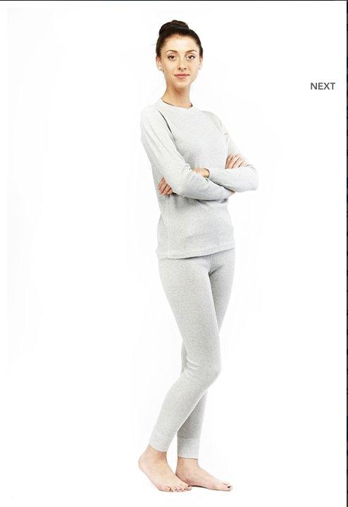 Женское термобелье Termoline Cotton   (комплект - футболка с длинным рукавом + лосины)