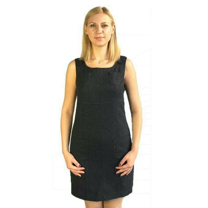 f53cf89d30f СП Серпухов • Совместные покупки • Офисное платье-сарафан. Новое